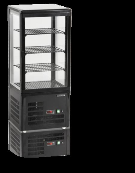 UPD80/BLACK/R600 | Кондитерская витрина