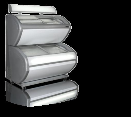 DD240CP/4 DIVIDER/LED | Лари для мороженого от бренда Tefcold (Дания) в Украине