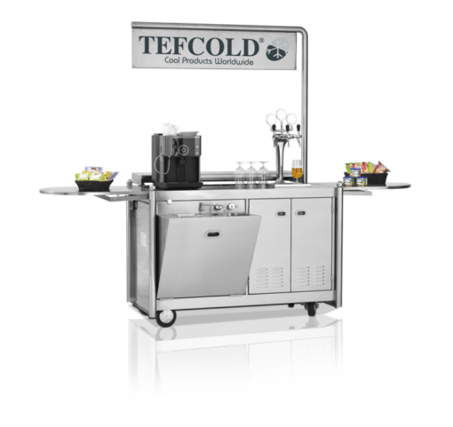 MSD-TROLLEY 150 | Mobile Service Desk от бренда Tefcold (Дания) в Украине