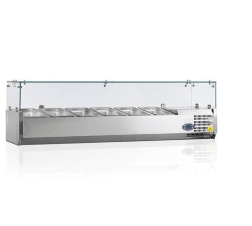 VK33-140 I | Холодильная витрина GN1/4 от бренда Tefcold (Дания) в Украине