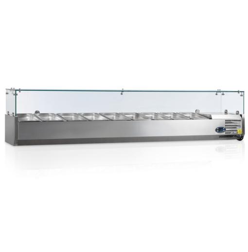 VK33-200-I | Холодильная витрина GN1/4 от бренда Tefcold (Дания) в Украине