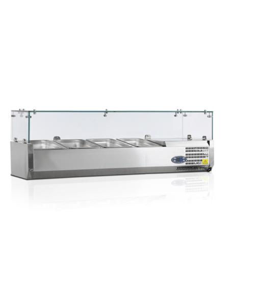 VK38-120-I | Холодильная витрина GN1/3 от бренда Tefcold (Дания) в Украине