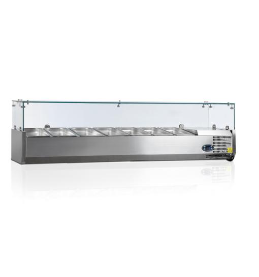 VK38-160-I | Холодильная витрина GN1/3 от бренда Tefcold (Дания) в Украине