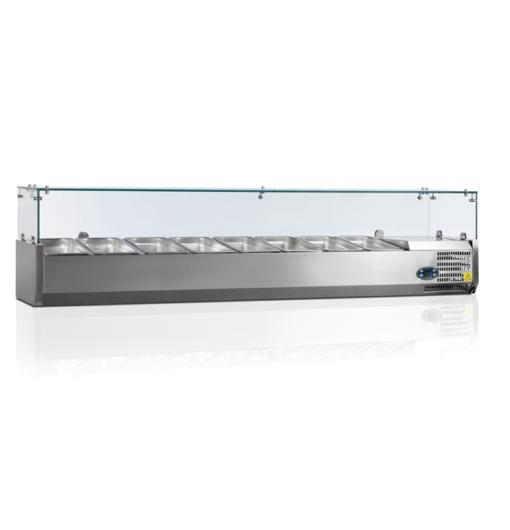 VK38-180-I | Холодильная витрина GN1/3 от бренда Tefcold (Дания) в Украине
