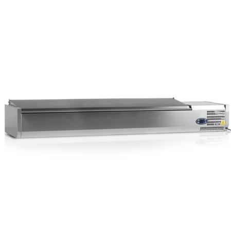 VK33-200-I S/S | Холодильная витрина GN1/4