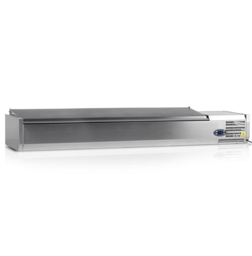 VK33-200-I S/S | Холодильная витрина GN1/4 от бренда Tefcold (Дания) в Украине