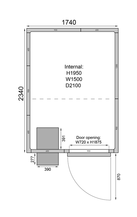 CR1723F | Холодильная камера